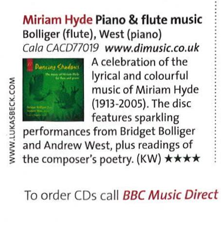 2015-04 BBC Music Direct - Dancing Shadows
